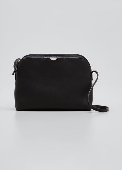 Multi Pouch Bag in Calfskin Leather