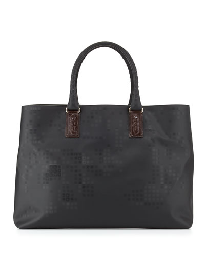 Marco Polo Tote Bag, Black