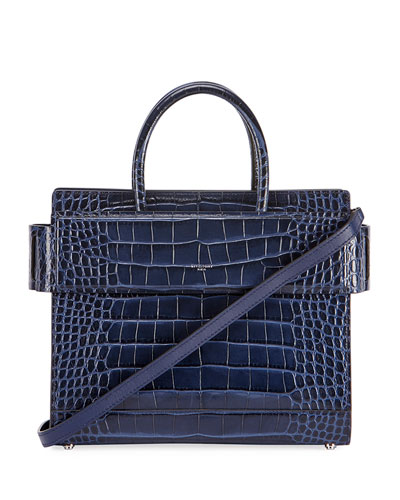 Horizon Small Alligator Tote Bag