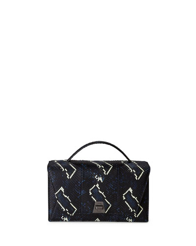 Anouk City Python Shoulder Bag