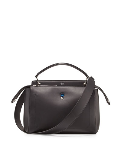 Dotcom Medium Leather Satchel Bag