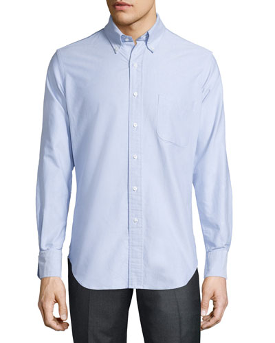 Oxford Dress Shirt, Blue