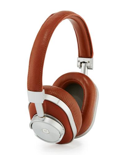 MW60 Wireless Over-Ear Headphones, Brown/Cognac