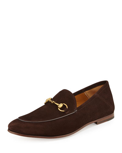 Brixton Suede Horsebit Loafer, Brown