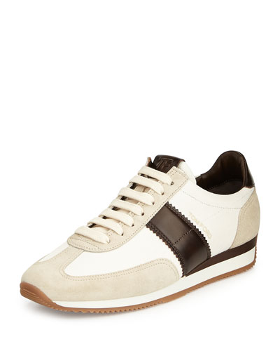 tom ford logo sneakers | bergdorfgoodman