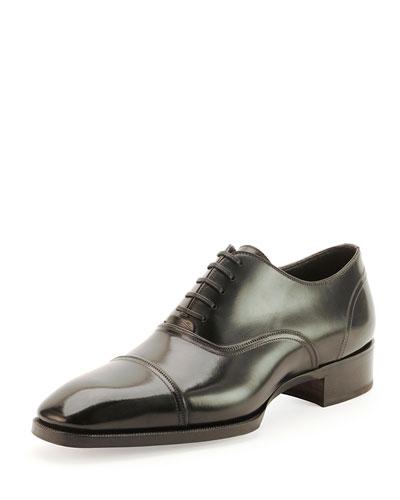 Gianni Cap-Toe Lace-Up Shoe