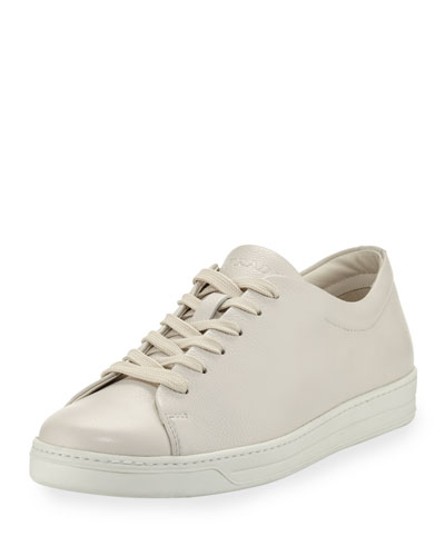 Torro Leather Low-Top Sneaker, White
