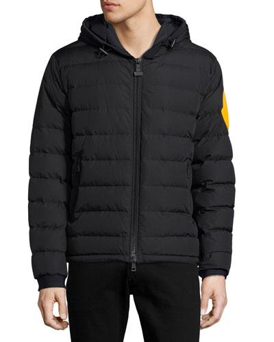 Dinard Hooded Puffer Jacket, Black