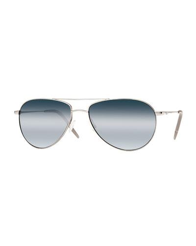 Benedict 59 Aviator Sunglasses