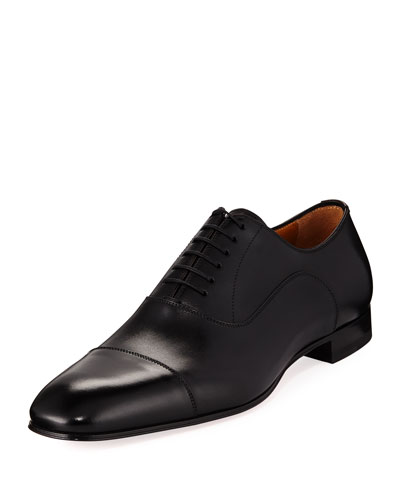 Greggo Men's Lace-Up Leather Dress Shoe