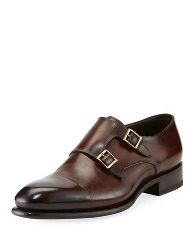 Carter Double-Monk Shoe