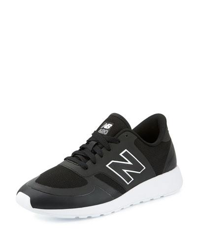 Men's 420 Re-Engineered Sneaker, Black/White