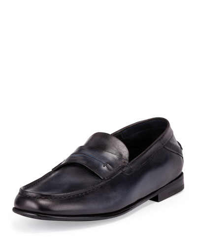 Gaspard Conduit College Loafer, Black