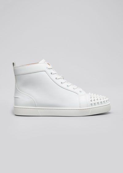 a4857c24f816 Men s Lou Spikes High-Top Sneakers Quick Look. Christian Louboutin