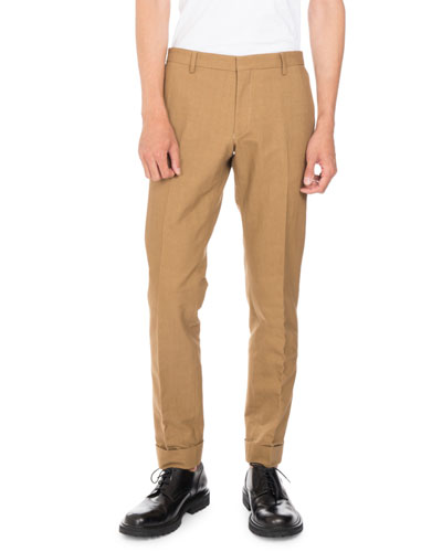 Patrini Cuffed Pants, Camel