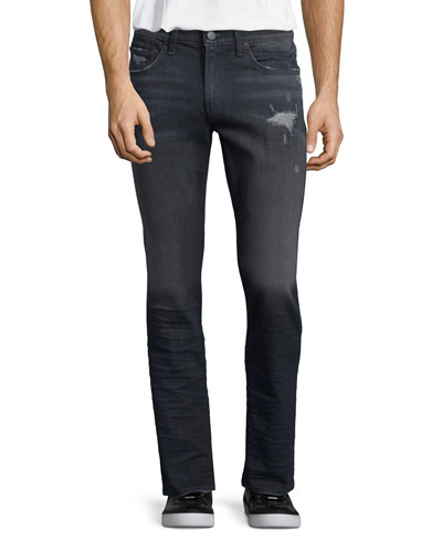 Tyler Faded Distressed Denim Jeans
