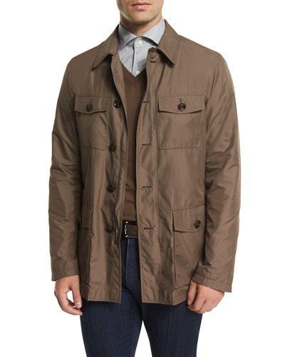 Button-Down Safari Jacket