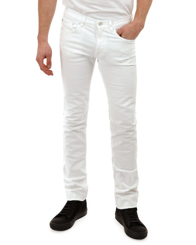 Ace White Denim Jeans