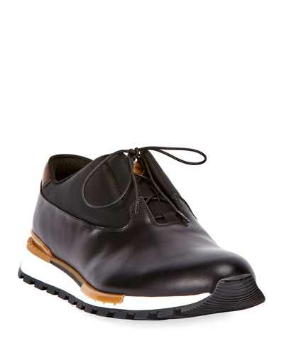 Men's Fast Track Torino Glazed Calf Leather Sneaker