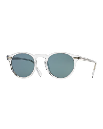 Men's Gregory Peck 47 Round Sunglasses