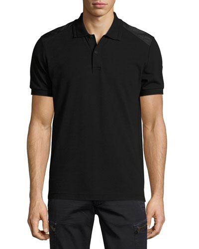 Hitchin Cotton Pique Polo Shirt