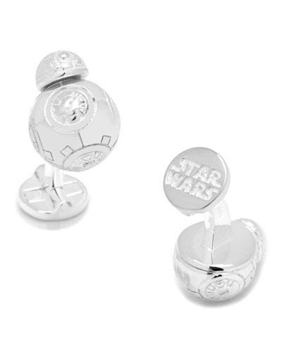 Star Wars BB-8 Sterling Silver Cuff Links