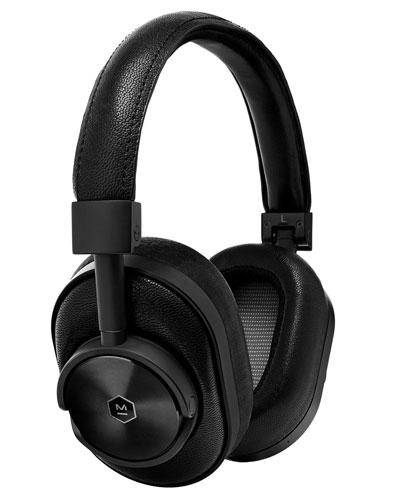 MW60 Wireless Over-Ear Headphones, Black/Black