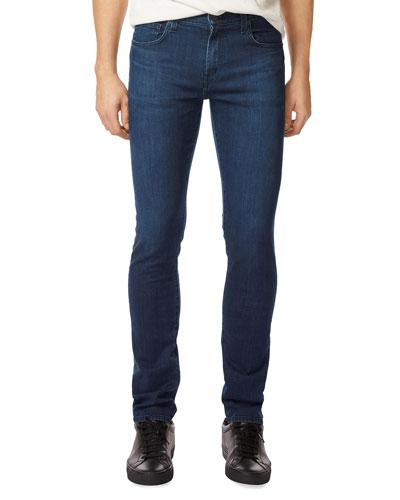 Men's Tyler Slim-Straight Jeans, Medium Blue