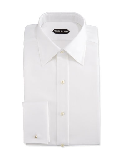 7ecebdc07ac Classic French-Cuff Slim-Fit Dress Shirt
