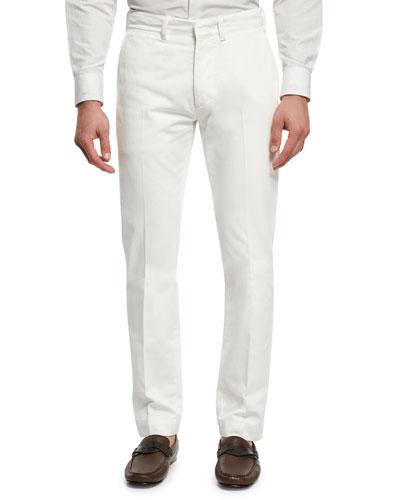 Classic Chino Pants, White