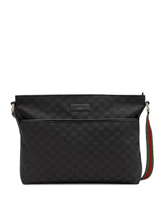 Canvas Messenger, Black