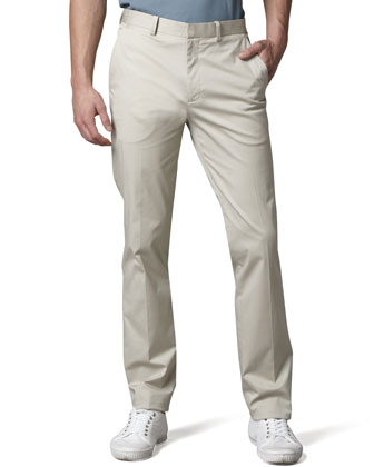 Theory Straight-leg Pants, Seed