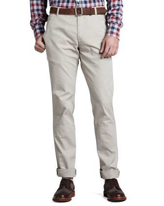 Cotton Aviator Pants