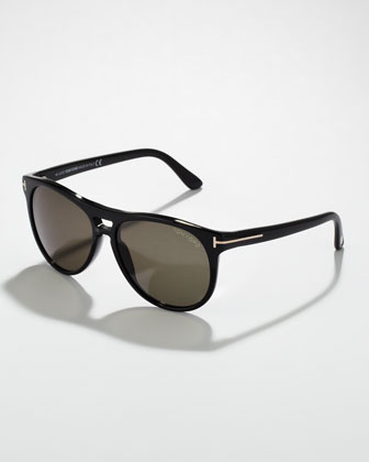 Callum Acetate Square Sunglasses