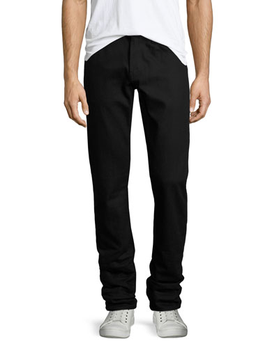 Kane Black Stretch-Denim Jeans