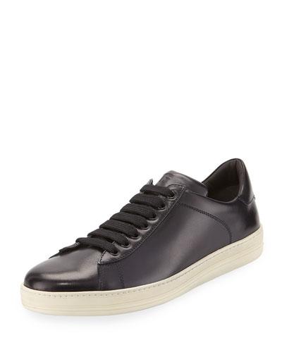 Russel Suede Low-Top Sneaker, Navy
