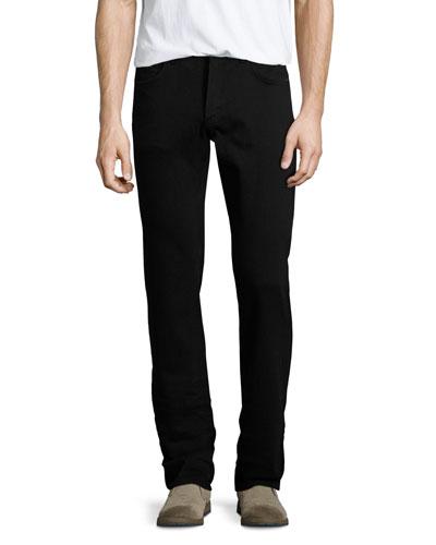 Sid Midnight Straight-Leg Jeans, Black