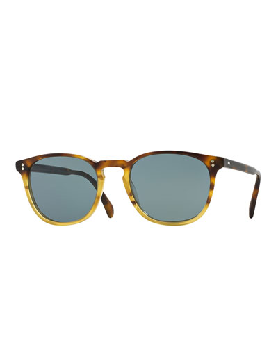 Finley Esq. 51 Acetate Sunglasses, Brown Tortoise