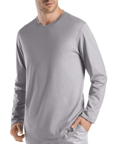 Night & Day Long-Sleeve Shirt, Gray