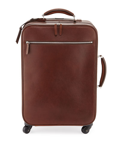 Leather Trolley Bag, Copper