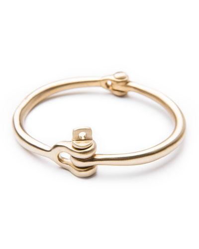 Reeve Brass Bracelet