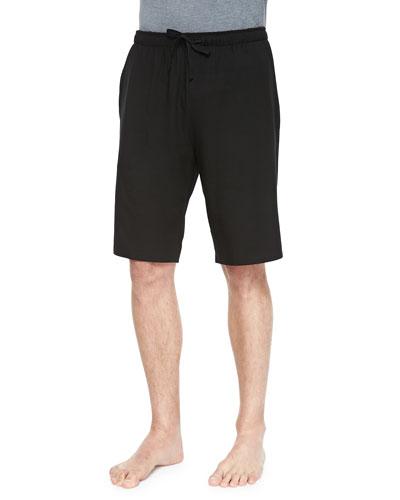 Basel 1 Jersey Lounge Shorts, Black