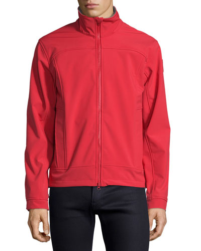 Bracebridge Zip-Up Jacket, Red