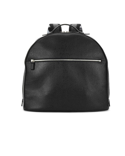 Revival Leather Backpack, Black