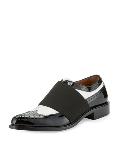 Show Richelieu Icon Oxford, Black/White