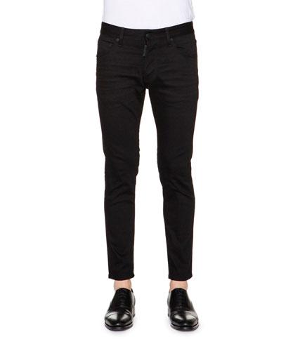 Dan Skinny-Leg Jeans, Black