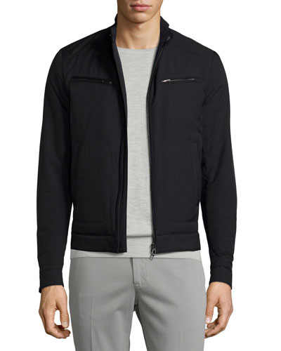 Windmate® Zip-Front Jacket, Blue Navy