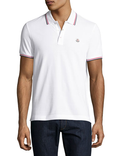 Tipped Piqué Polo Shirt