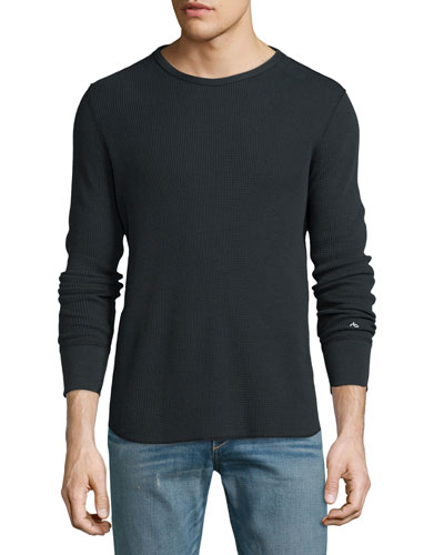 Standard Issue Thermal T-Shirt, Black