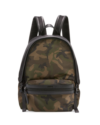 New Romeo Camouflage Canvas & Nylon Backpack